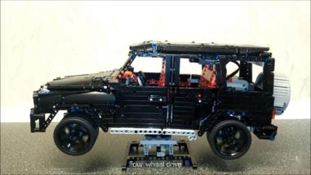 高仿真!乐高科技系列 机械组 MOC 奔驰G63 lego technic