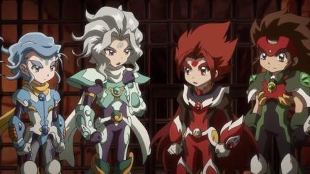 HEROES:战斗盘传说 第17集【无字幕】