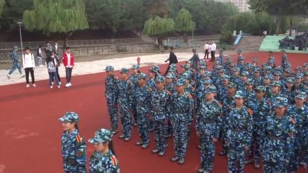 青岛大学2018级新生军训检阅暨开学典礼
