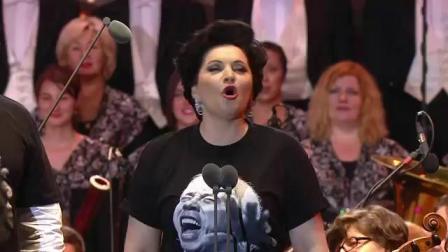 纪念老霍去世音乐会 返场曲目 饮酒歌 老霍老婆上台
