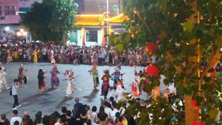 汕头市濠江区马窖英歌队2018中秋国庆英歌舞表演潮汕英歌舞