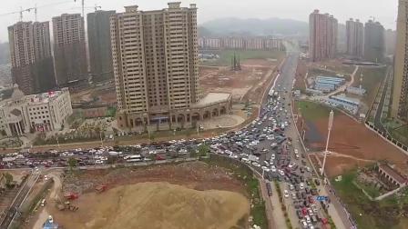 中国历史上最严重的堵车事故,足足堵21天,堵车