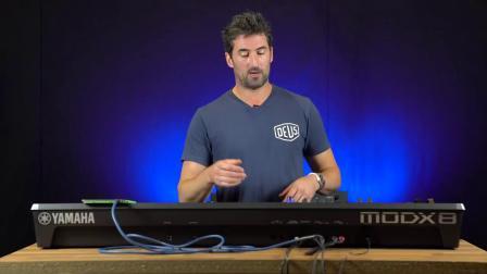 Luke Juby演示Yamaha最新MODX8合成器【中国电子琴信息网转】
