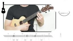追梦人-凤飞飞  尤克里里指弹教学【桃子鱼仔ukulele教室】