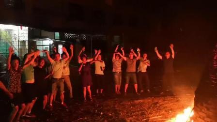 福建八月十五风俗火烧宝塔驱邪