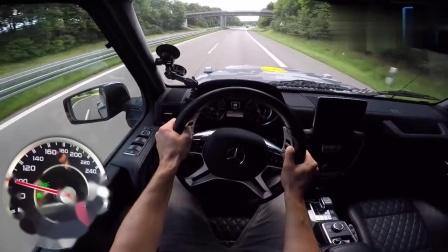 第一视角驾驶,价值千万的奔驰G63AMG6X6,超级霸气