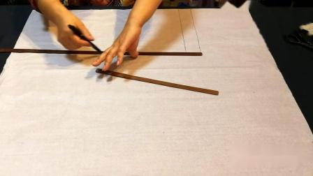30年老裁缝教新手画包裙裁剪图教学,方法很简单,看了你就能学会