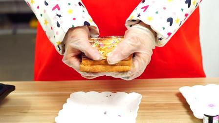 面包店买回来4块钱一袋的吐司,加上点芝士就可以玩出网红小吃了