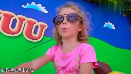 卡通农场主题儿童游乐园:坐上小火车,哼着儿歌,咿呀咿呀呦