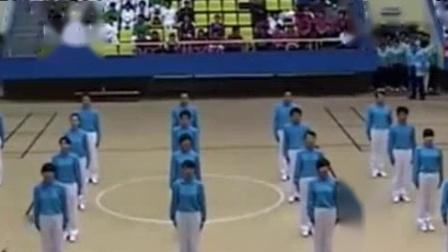 我在第八套广播体操, 有多少人做过? 70 80后一定很熟悉截了一段小视频