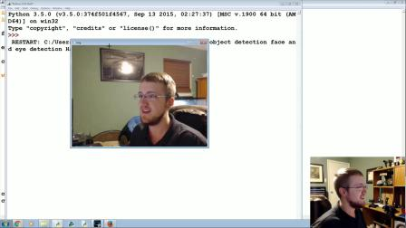 OpenCV with Python 16 - Haar Cascade Object Detection Face & Eye