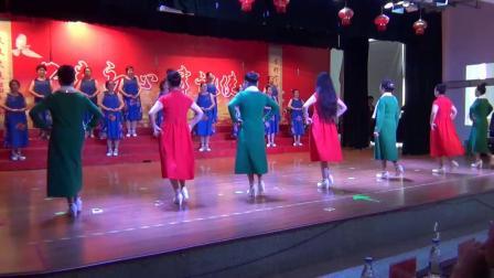 20180926七台河老年大学庆十一 模特班演出《时装走秀》