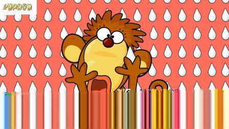 搞笑歌曲12五只小猴子童谣