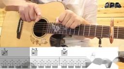赵雷 南方姑娘 唯音悦原版简单吉他弹唱教学