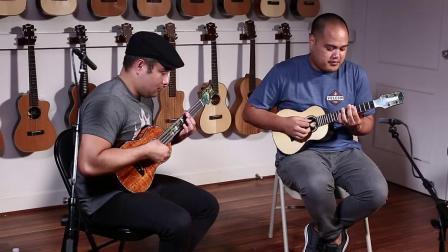 Corey Fujimoto & Kalei Gamiao -ukulele