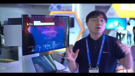 世界人工智能大会微软AI+教育展区
