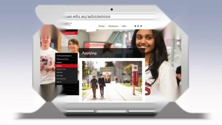 塔斯马尼亚大学在线申请系统使用指南(上)