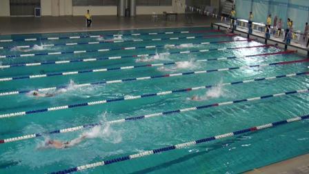 2018深圳市中小学生游泳比赛之小学男子甲组4×50米自由泳接力片段