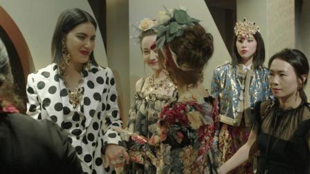 四位超人气亚洲明星为杜嘉班纳2019春夏女装系列合体走秀