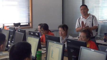 2018年济南市残疾人计算机培训留念
