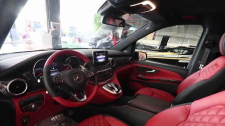 巴博斯V250新款改装商务车,运动型奔驰房车V级改装