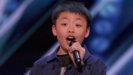 13歲的李成宇上《美國達人秀》展現驚人的歌喉!(中文字幕)
