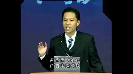 2003CCTV杯全国英语演讲比赛北京决赛-卢声声