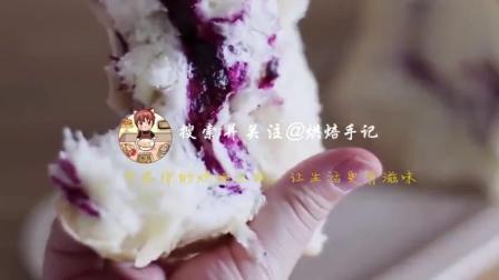 网红甜品手撕奶油吐司面包,口感松软酸甜,附方子和烘焙做法