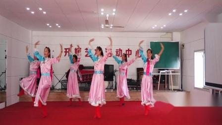 梅花清香舞蹈队上午班第三组表演[天边的情歌]