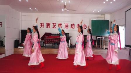 梅花清香舞蹈队上午班第一组表演[天边的情歌]