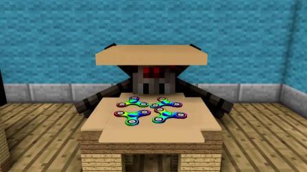 我的世界动画-怪物学院-拆礼物-Kefe Animations