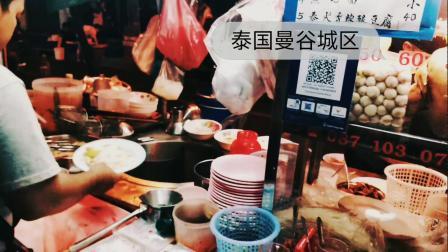 泰国美食炸鸡面