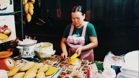 泰国美食:芒果糯米饭