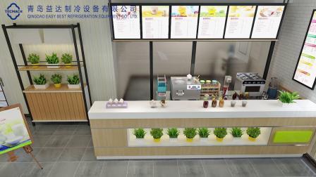 意式手工冰淇淋青岛益达高端冰淇淋机硬冰机