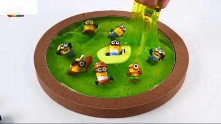 戴尔中的农民学习彩虹彩虹沙泥蛋糕猕猴桃玩具儿童歌曲
