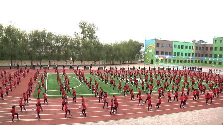 吉林省磐石市红旗岭镇第三小学阳光体育大课间