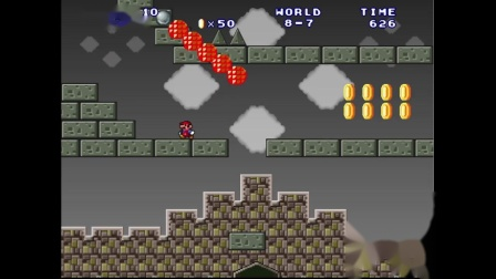 Mario Forever Magic Land V3.5 World 8 一命通关字幕解说