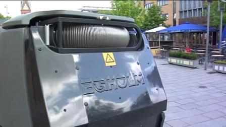 丹麦力奇2250户外多功能扫地车视频详细介绍