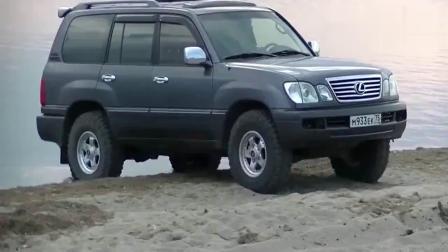 雷克萨斯LX470沙地越野,这路况也是没谁了!