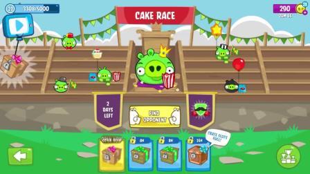 捣蛋猪游戏:坏猪-22级直接撞到大理石板条箱!