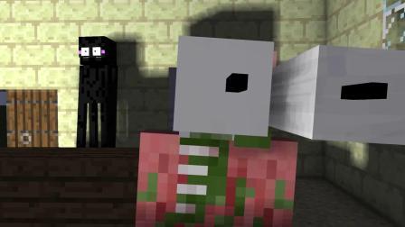 我的世界动画-怪物学院-恐怖教堂-Sweet Craft