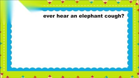 100-74 Enough, Elephant