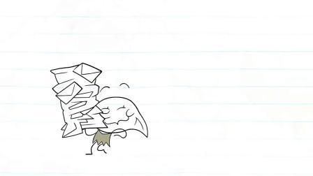 搞笑铅笔动画,生日蛋糕被男子损坏,遭到大家的谴责