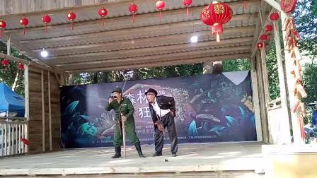 值夏农民剧团在青龙洲表演VID20181002155144