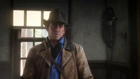 PS4《荒野大镖客:救赎2》实机演示2