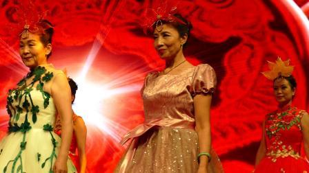 晚礼服展示----中国梦:攀枝花市仁和区老街社区时装舞蹈队