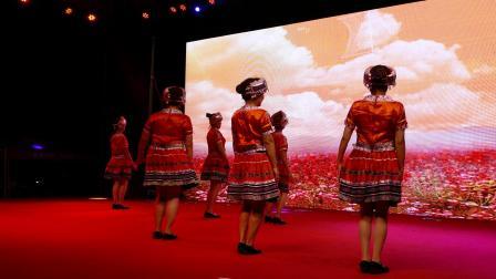 舞蹈----苗族新歌:攀枝花市仁和区沙沟社区光明舞蹈队