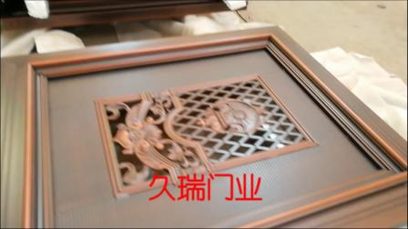 四川泸州客户别墅悬浮折叠门组装中