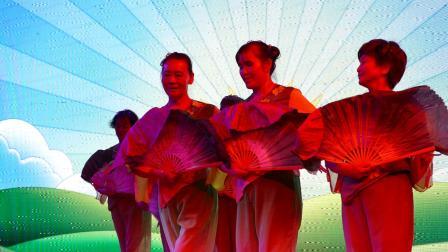 舞蹈----阳光的祝福;攀枝花市仁和区仁和街社区金夕阳舞蹈队