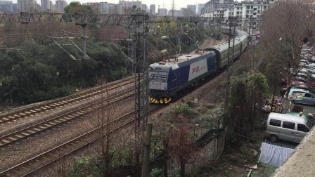 20170115 云雀苑拍摄 通勤车8504次 HXD3C0124